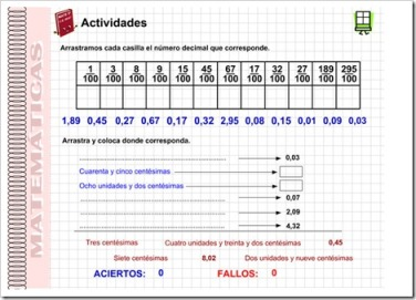 7.1.Fracciones decimales | NUESTRO BLOG DE 5º DE PRIMARIA
