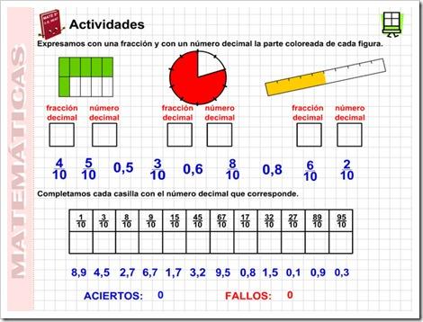7.1.Fracciones decimales « NUESTRO BLOG DE 5º DE PRIMARIA