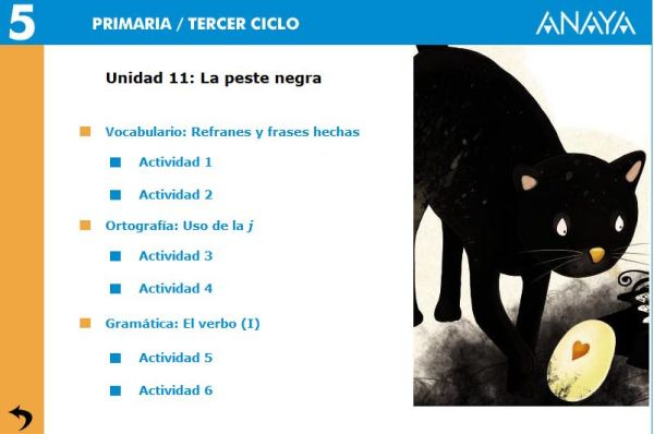 TEMA 11 LENGUA 5º