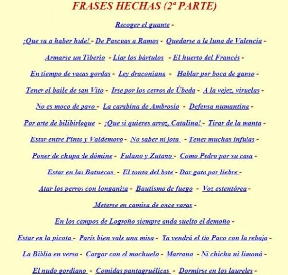 Refranes Y Frases Hechas Nuestro Blog De 5º De Primaria