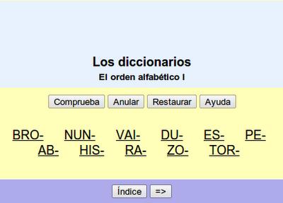 El_diccionario
